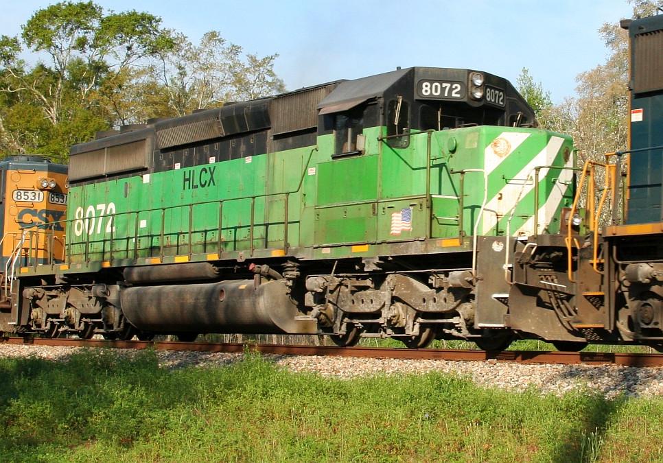 HLCX 8072 on Q609