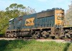 CSX 8531 leading a late Q609