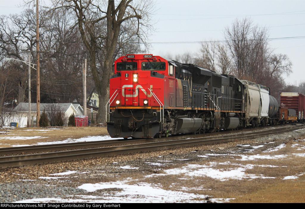 Canadian National, CN 8833