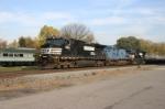 Train 174 arrives