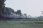 Amtrak #19, the Crescent comes through Howell Wye