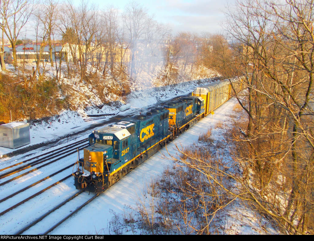 CSX 2547 and 2551 (3)