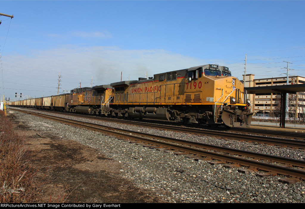 Union Pacific, UP 7190 and UP 5786