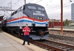 Taken by the CEO of Amtrak!