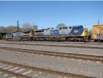CSX 358 and 7711
