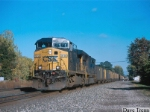 Westbound CSX empty Somerset Rwy coal train