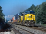 CSX #684 Leads a Westbound CSX Stack Train