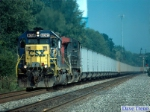"Westbound CSX ""V905"" Empty coal train"
