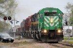 Westbound CITX Freight