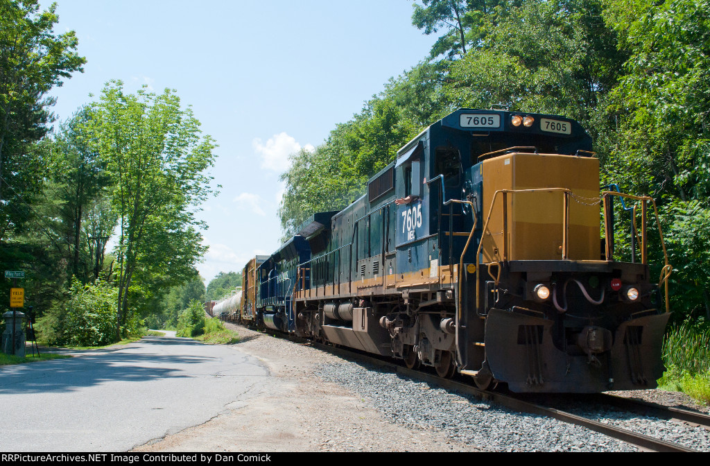 POWA 7605 at Willey Point Rd.