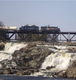 PORU 334 Crosses the Great Falls