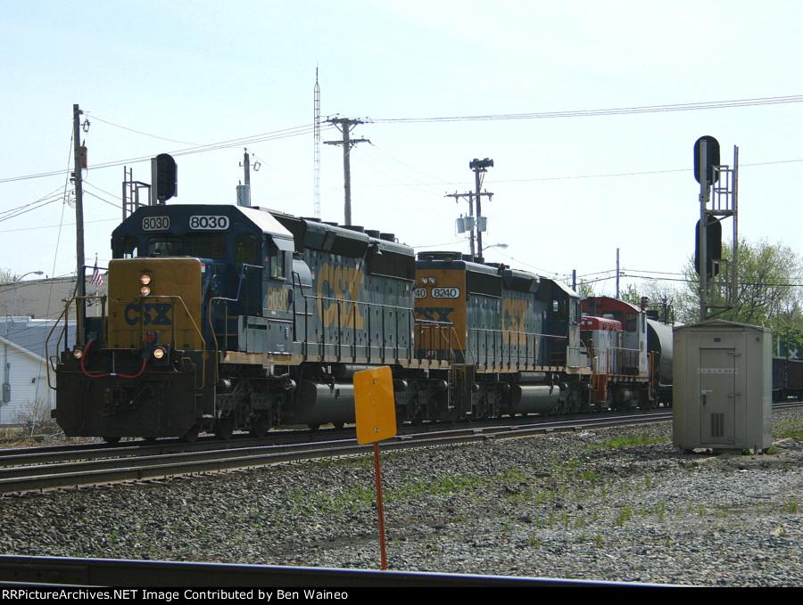 CSX 8030 With a SW1