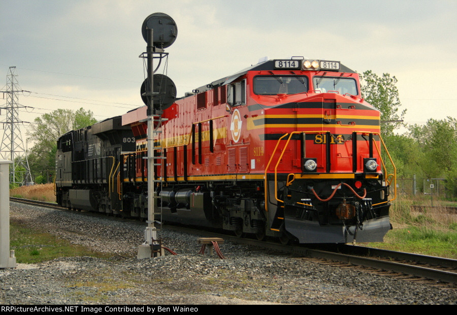 NS 8114, Norfolk Southern Heritage