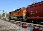 BNSF 4193 Pushing