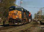 Q393 with a BNSF Delivery