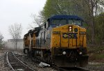 CSX 7864 brings up the rear on G010-22