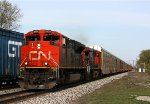 CN 8809 leads M393 through Durand