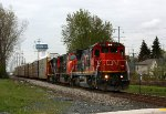 CN 2115 leads a very short M371 north