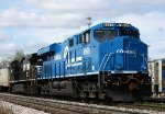 NS 8098, the Conrail heritage unit