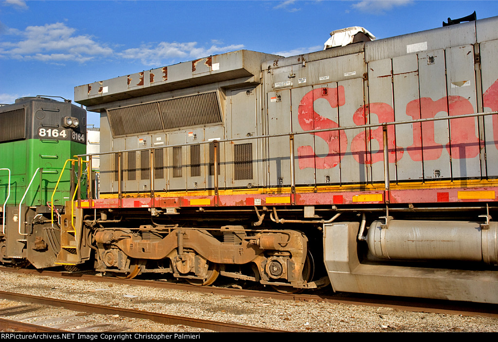 BNSF 934 In Storage