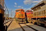 BNSF 8268 and BNSF 641 Stored
