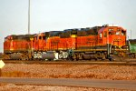 BNSF 2871, 9526, and 4549