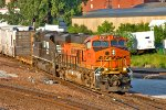 BNSF 6731 and NS 2688 Lead H-OMAKCK1-24