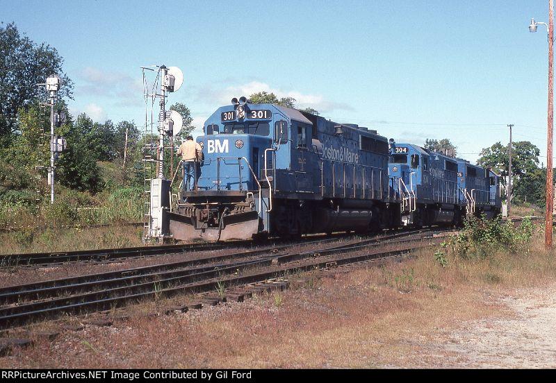 B&M 301-304-305