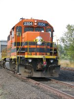 PNWR 2304 a good looking GP39-2 named Corvallis after the city of!