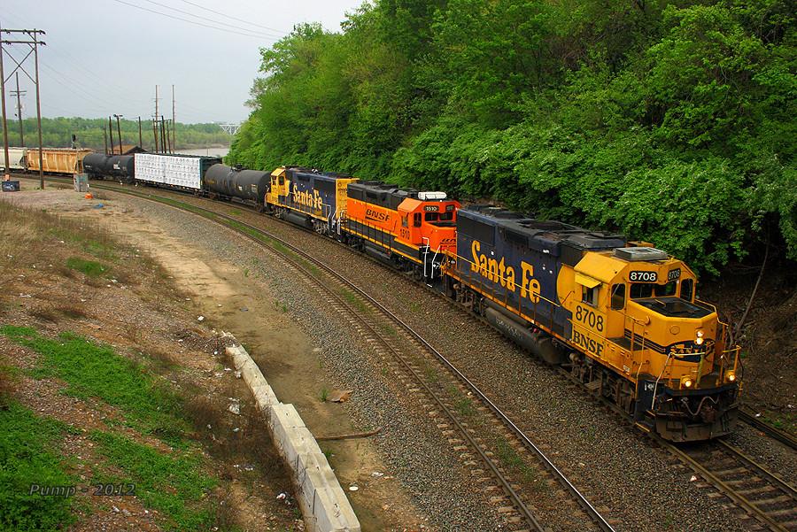 Southbound BNSF Local Train