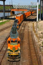 Westbound BNSF Yard Job Train