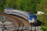 Eastbound Amtrak Missouri River Runner Train #316