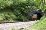 CSX 5319 exiting Davis Tunnel