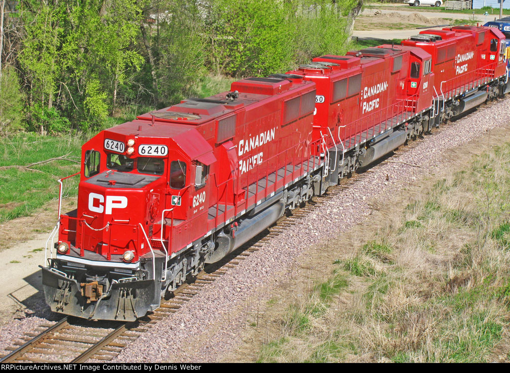 CP 6240,  DM&E's   Waseca   Sub.