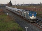Amtrak Lakeshore Limited at Mile 70 Lakeshore Sub.