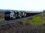 NS 7590 east at Mile 71 Lake Erie District