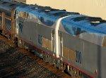 AMTK 823 trailing on Amtrak 48