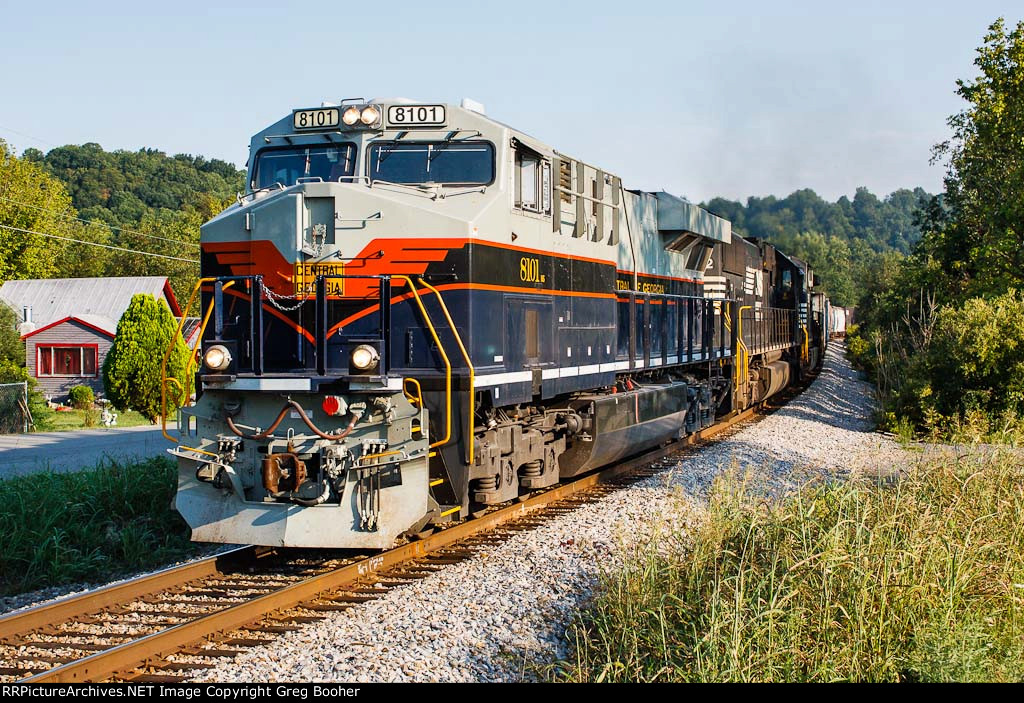 NS 8101 Central of Georgia Heritage