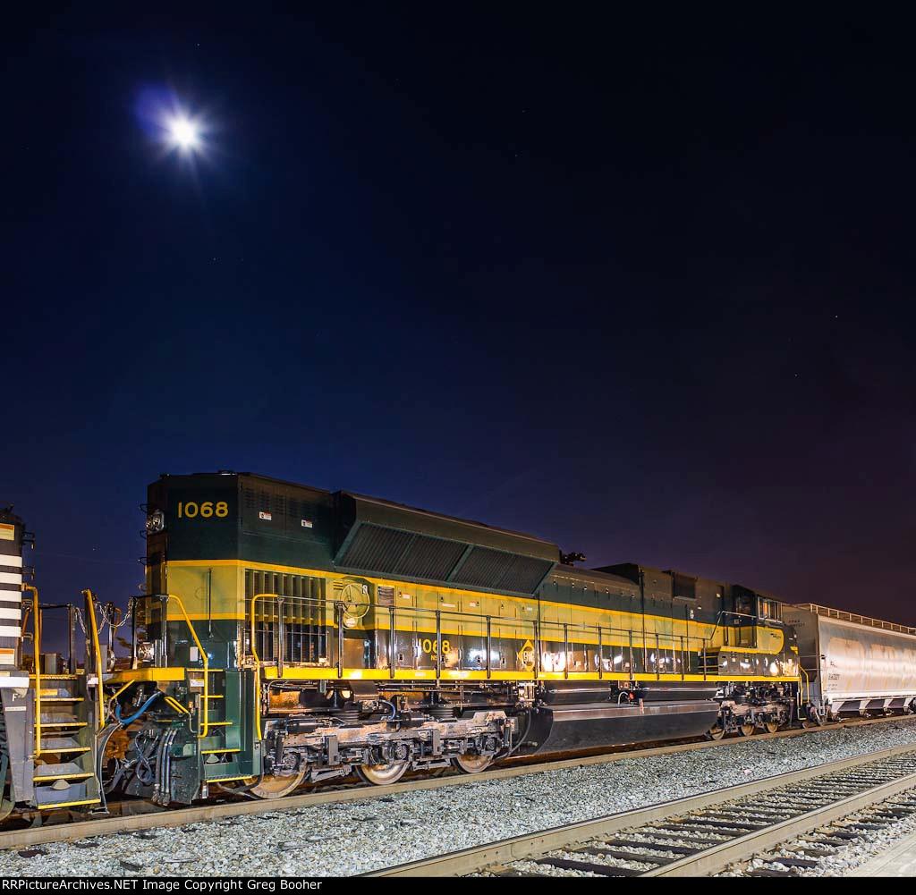 NS 1068 Erie Heritage Under Moonlight
