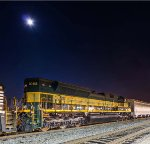 NS 1068 Erie Heritage Under Moonlight