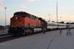 BNSF Employee train