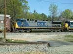 CSX 15 on train Q614
