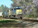 CSX Train Q693
