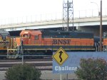 BNSF local prepares to leave on Saturday