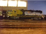 BNSF 2860 joins the night crew