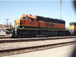 BNSF 1857 on the eastern section of BNSF
