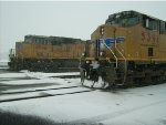 Winter at the Klamath Falls Depot