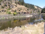 CSP 3 rolling along the Clearwater River