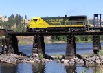 CSP 3 crossing the Clearwater River