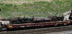 BNSF 169's trucks/fuel tank